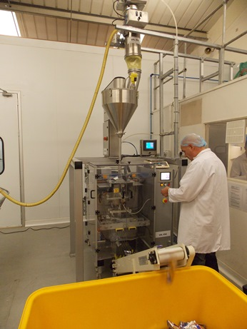 UIL Blending Solutions Gainsborough Packing Machine in use
