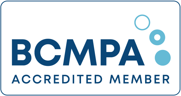 BCMPA Accredited logo